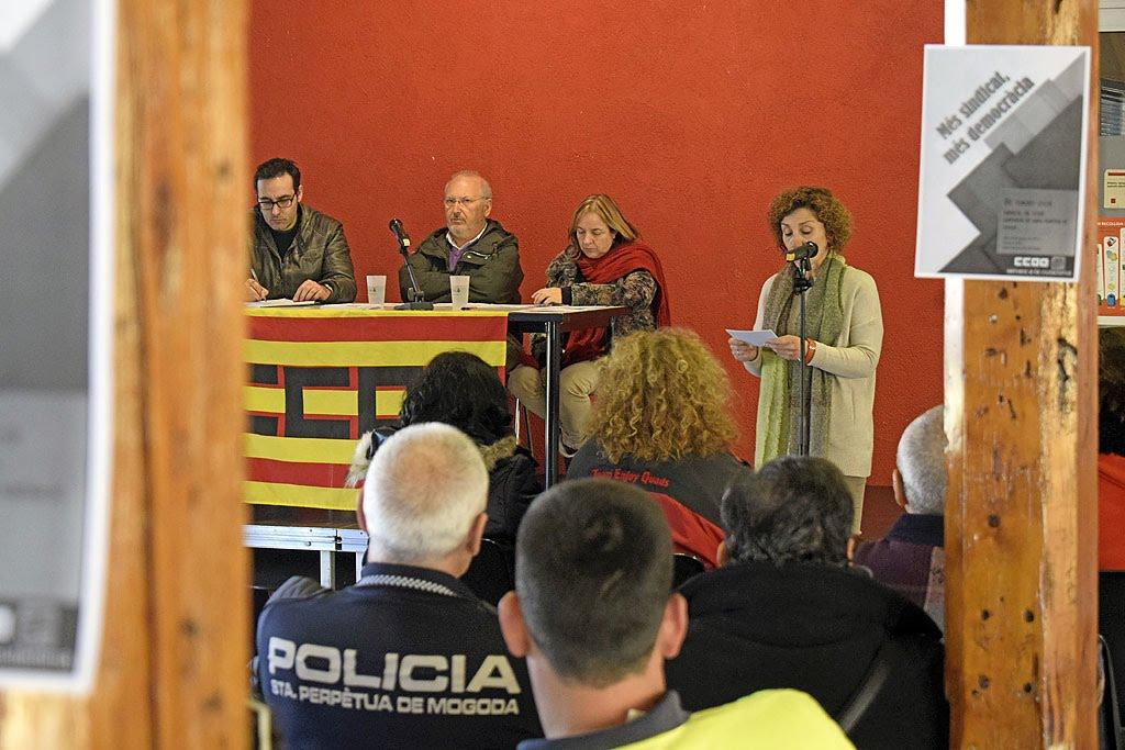 Moment de la intervenció de l'Alcaldessa Isabel Garcia.