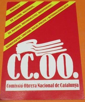 Carnet CCOO 1984